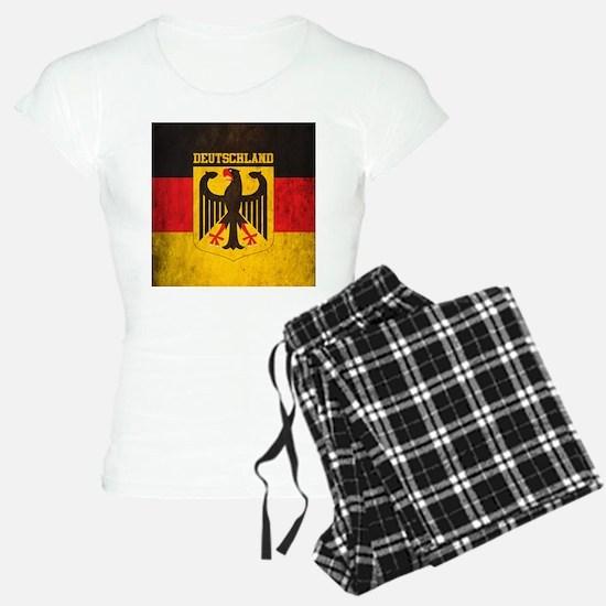 Grunge Germany Flag Pajamas
