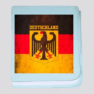 Grunge Germany Flag baby blanket