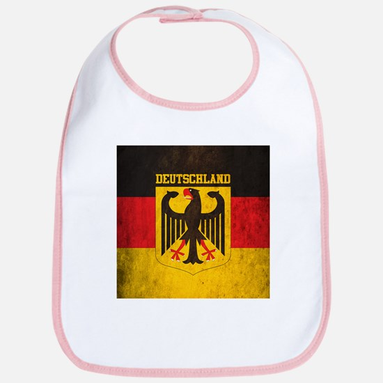 Grunge Germany Flag Bib