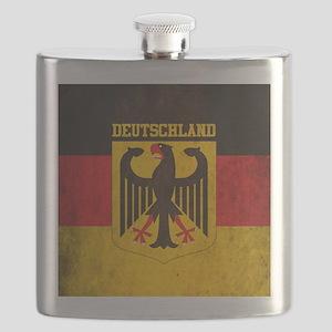 Grunge Germany Flag Flask