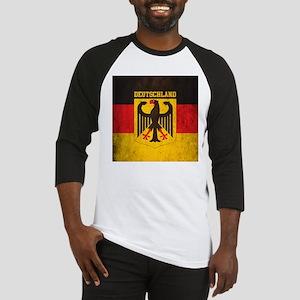 Grunge Germany Flag Baseball Jersey