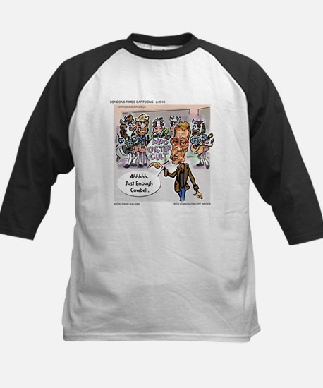 More Cowbell Please Kids Baseball Jersey