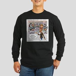 More Cowbell Please Long Sleeve Dark T-Shirt