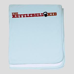 The Kettlebell Kid baby blanket