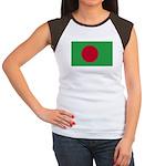 Bangladesh Flag Women's Cap Sleeve T-Shirt