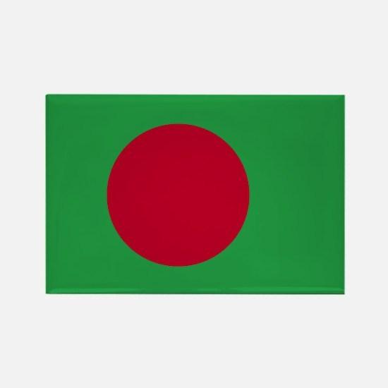 Bangladesh Flag Rectangle Magnet