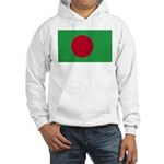 Bangladesh Flag Hooded Sweatshirt