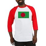 Bangladesh Flag Baseball Jersey