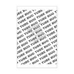 Bug Tube Mini Poster Print