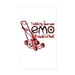 Emo Lawn Sticker (Rectangle 10 pk)