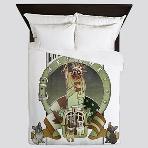 We Have The Key -1 Queen Duvet