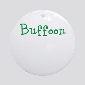 buffoon Ornament (Round)