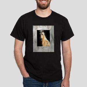 Golden Dream Horse Dark T-Shirt