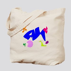 Let's Play with Friends at the Age of 60 Tote Bag