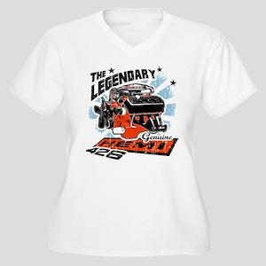 Legendary 426 Women's Plus Size V-Neck T-Shirt