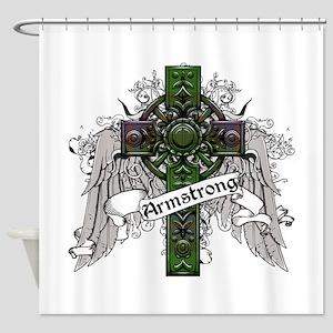 Armstrong Tartan Cross Shower Curtain