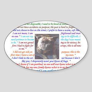IamRescue Sticker (Oval)