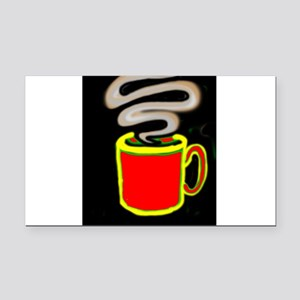 FREEDOM COFFEE VII™ Rectangle Car Magnet