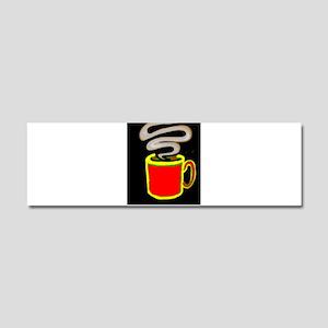 FREEDOM COFFEE VII™ Car Magnet 10 x 3