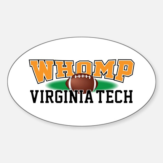 Wake_Forest.png Sticker (Oval)