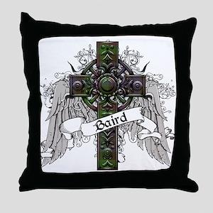 Baird Tartan Cross Throw Pillow