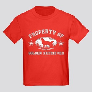 Golden Retriever Kids Dark T-Shirt