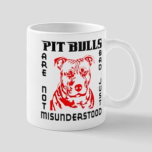 PIT BULLS ARE NOT BAD Mug