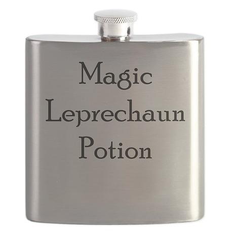 Magic Leprechaun Potion Flask