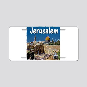 jerusalem Aluminum License Plate