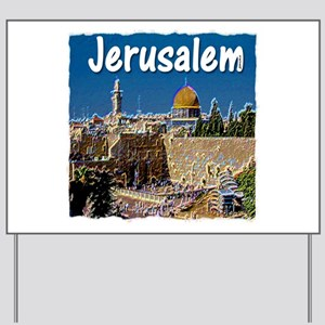 jerusalem Yard Sign