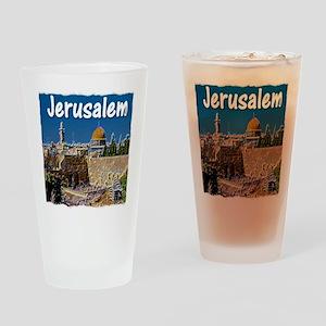 jerusalem Drinking Glass