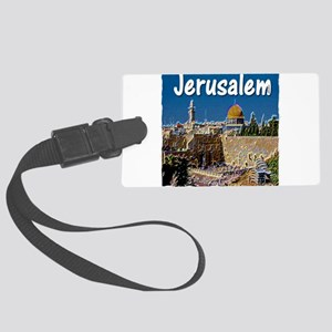 jerusalem Large Luggage Tag