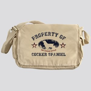 Cocker Spaniel Messenger Bag