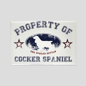 Cocker Spaniel Rectangle Magnet