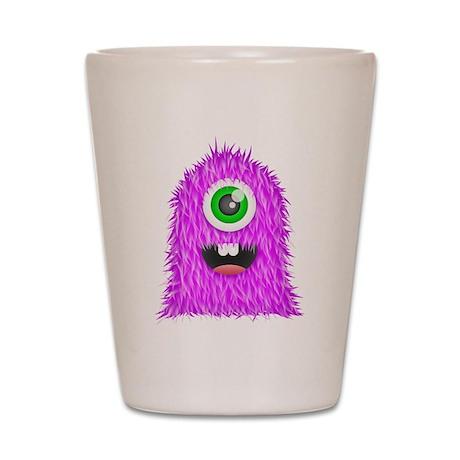 Purple Monster Shot Glass
