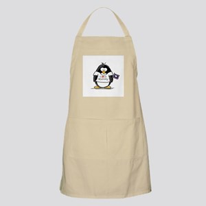 Wyoming Penguin BBQ Apron