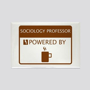 Sociology Professor Powered by Coffee Rectangle Ma