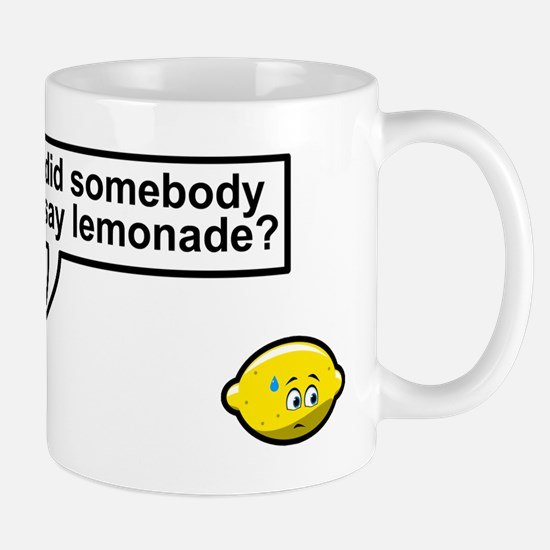 Unique Lemonade Mug