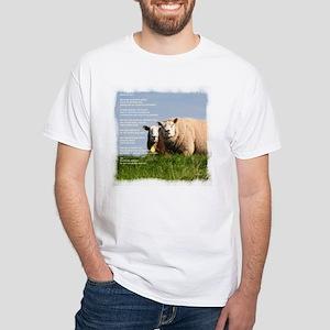 Open de deur White T-Shirt