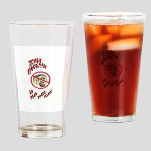 Zombie Apocolypse Drinking Glass