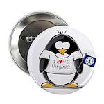 Virginia Penguin Button