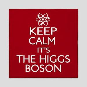 Keep Calm its Higgs Boson Queen Duvet