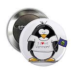 Vermont Penguin Button