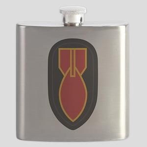 WWII Bomb Disposal Flask