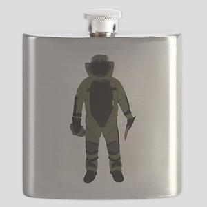 Bomb Suit Flask