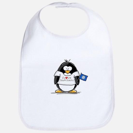 South Dakota Penguin Bib