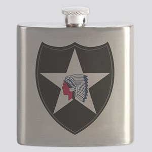 2nd Infantry Flask
