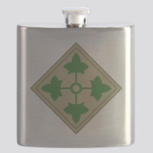 4th Infantry Flask