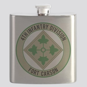 4th Infantry post Flask