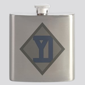 26th Infantry Yankee Div Flask